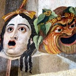 Maski - tragiczna i komiczna