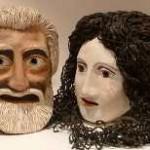 Maski - męska i kobieca