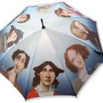 10. Parasol z pisarkami